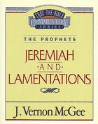 Thru the Bible OT #24: Jeremiah/Lamentations (#24 in Thru The Bible Old Testament Series) Paperback