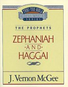 Thru the Bible OT #31: Zephaniah/Haggai (#31 in Thru The Bible Old Testament Series) Paperback