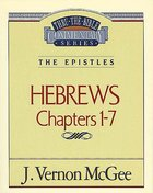 Ttb NT #51: Hebrews Volume 1 Paperback