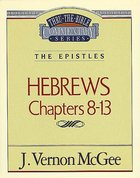 Ttb NT #52: Hebrews Volume 2 Paperback