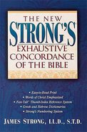 New Strong's Exhaustive Concordance of the Bible Bargain Edition (Super Value Edition Series) Hardback