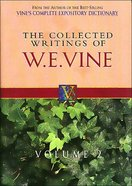 Collected Writings of W.E.Vine (Vol 2) Paperback