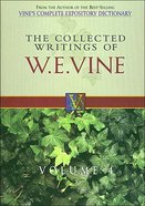 Collected Writings of W.E.Vine (Vol 4) Paperback
