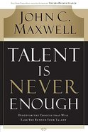 Talent is Never Enough Hardback