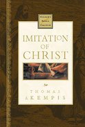 Imitation of Christ (Nelson's Royal Classics Series) Hardback
