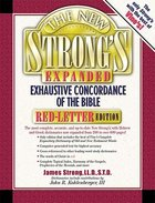 The New Strong's Expanded Exhaustive Concordance Hardback