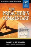 Ecclesiastes/Song of Solomon (#16 in Preacher's Commentary Series)