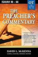 Isaiah 40-66 (#18 in Preacher's Commentary Series) Paperback