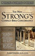 Nelson's Compact New Strong's Bible Concordance (Kjv Based) Paperback