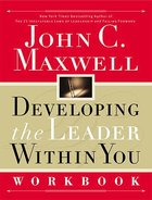 Developing the Leader Within You (Workbook) Paperback