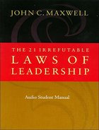 The 21 Irrefutable Laws of Leadership (Study Guide) Paperback