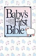 KJV Baby's First Full-Colour (Red Letter Edition) Hardback