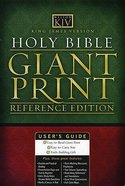 KJV Study Bible Black Bonded Leather