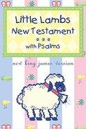 NKJV Little Lamb's New Testament & Psalms Blue Imitation Leather