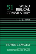 1,2,3 John (Word Biblical Commentary Series) Hardback