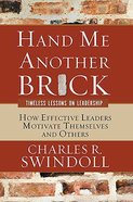 Hand Me Another Brick Paperback