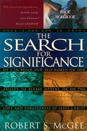The Search For Significance (Incl.workbook) Paperback