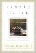 Simple Faith Paperback
