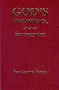 God's Promises For Every Day (Ncv) Paperback