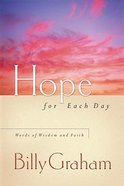 Hope For Each Day Hardback