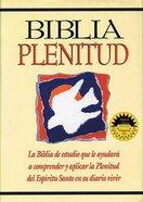 Rvr 1960 Biblia Plenitud (Red Letter Edition) (Spirit-filled Life) Hardback