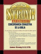 Strong's Spanish Exhaustive Concordance Hardback