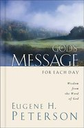 God's Message For Each Day Hardback