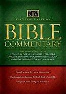 Bible Commentary KJV Hardback
