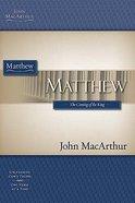 Matthew (Macarthur Bible Study Series) Paperback