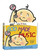 Babyfaith: God Made Music (Includes Rattle) Board Book