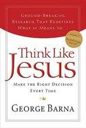 Think Like Jesus Paperback
