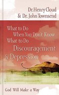 Discouragement & Depression (What To Do When You Dont Know What To Do Series) Hardback