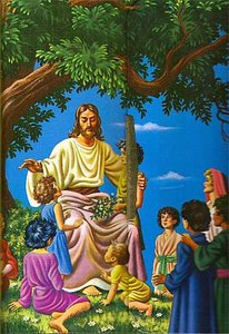 KJV Childrens Rainbow Illustrated Bible Snap