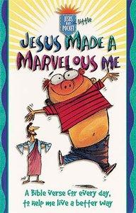 Jesus Made a Marvelous Me (Jesus In My Little Pocket Series)
