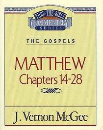 Thru the Bible NT #35: Matthew (Volume 2) (#35 in Thru The Bible New Testament Series)