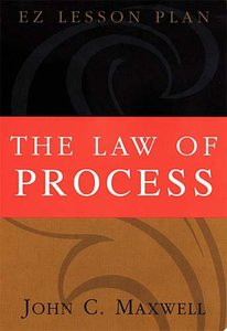 The Law of Process (Es Lesson Plan Series)
