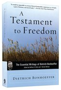 A Testament to Freedom Paperback