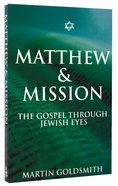 Matthew & Mission Paperback