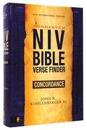 NIV Bible Verse Finder Concordance Paperback