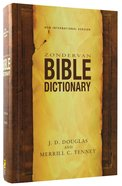 Zondervan Bible Dictionary (Niv) Hardback