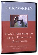 God's Answers to Life's Difficult Questions (Dvd)