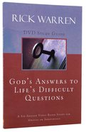 God's Answers to Life's Difficult Questions (Study Guide) Paperback