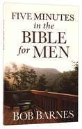 Five Minutes in the Bible For Men Paperback