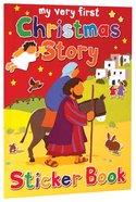 My Very First Christmas Story Sticker Book (My Very First Sticker Book Series) Paperback