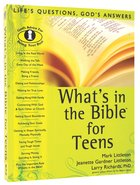 What's in the Bible For Teens Paperback