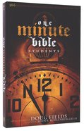 The HCSB One-Minute Bible For Students Paperback
