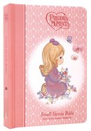 NKJV Precious Moments Holy Bible Pink (Red Letter Edition) (Small Hands Edition) Hardback