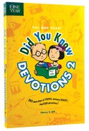 One Year: Did You Know Devotions 2 Paperback