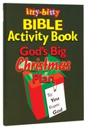 Activity Book God's Big Christmas Plan (Itty Bitty Bible Series)