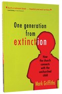 One Generation From Extinction Paperback